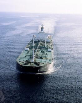 Loaded Oil Tanker
