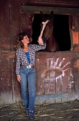 Race Horse & Owner, Salina CA