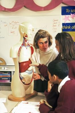 7th Grade Biology Teacher& Students