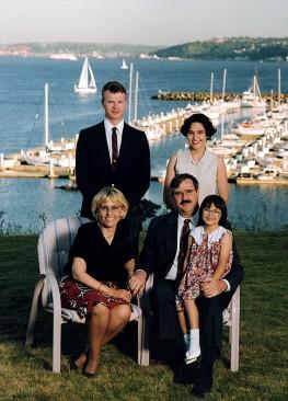 Family Portrait Overlooking Magnolia Marina