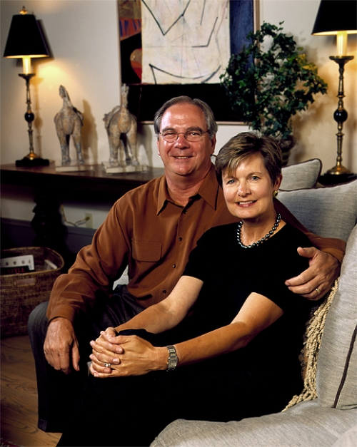 Portrait of a Couple in their Home