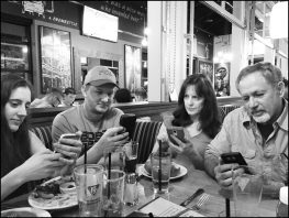 Five Cell Phones