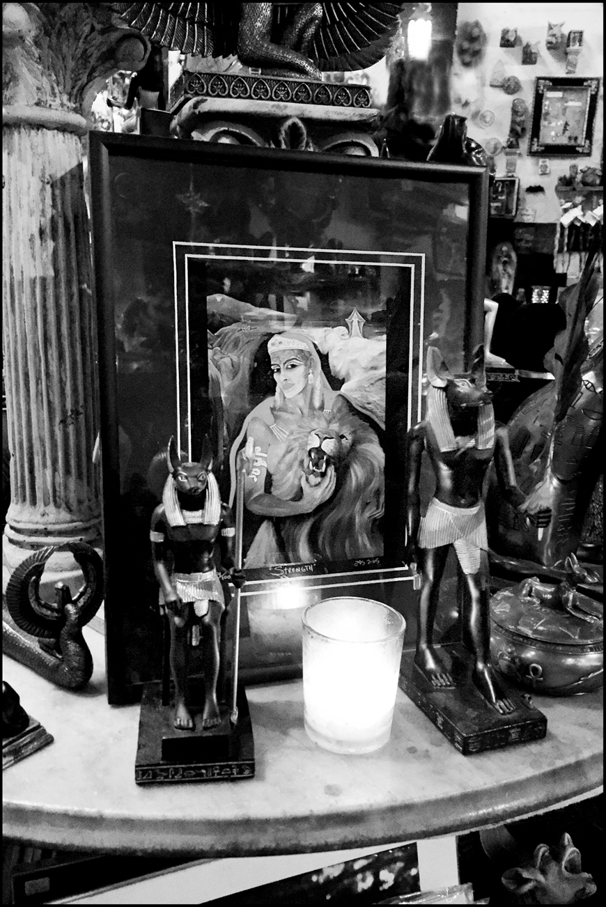 Shrine to the Godess of Strength